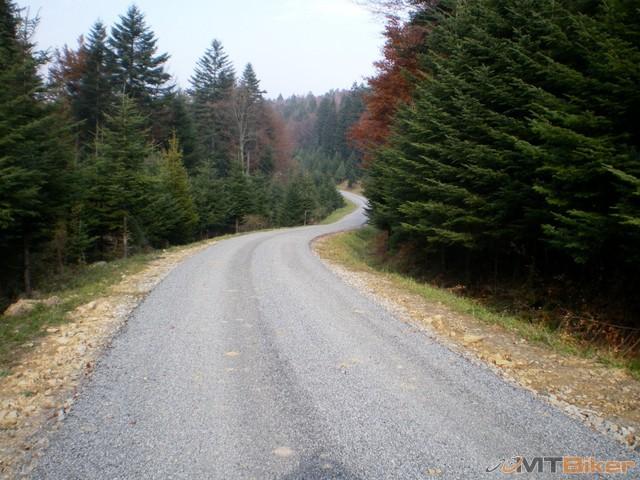 16.specialna foto pre lto ...takto bude vypadat cesta po dokonceni..tamta co sme isli smerom na bukovec...jpg