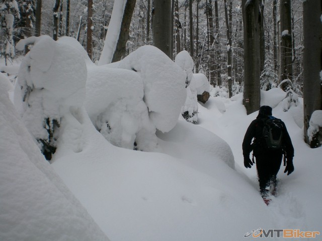 27.tu sa uz islo dost tazko..snehu pribudalo stale viac...niekde az popod pas.jpg