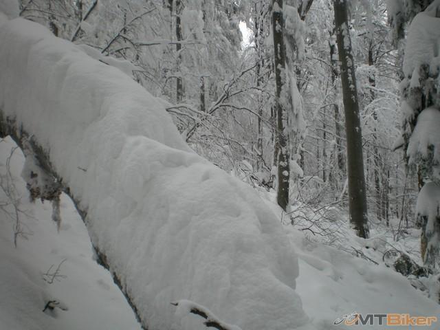 32.tu sme uz poriadne bludili znacky sa nam stracali..isli sme kriziom krazom do kopca 1 az 2metre za 5minut..sneh vyse pasa az po hrudnik..nieco sialene.jpg
