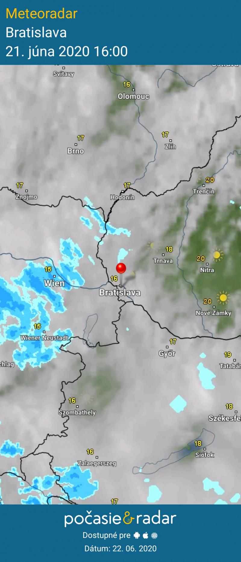 Počasie&Radar - aplikácia o počasí.jpg
