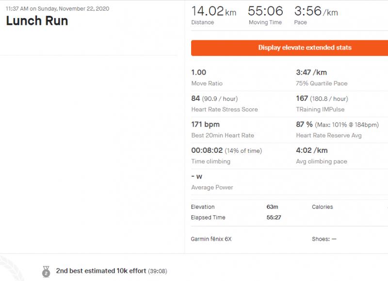 14 km súvisle, medzičas na 10. kilometri - 39 minút 8 sekúnd.PNG