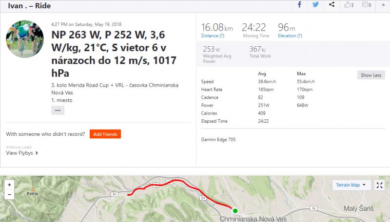 AVG 39,6 km za hodinu - nie na rovine a silnom vetre.PNG