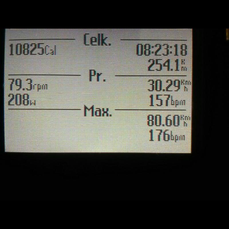 time pedaling  6 hodín 56 minút - 208 W - Garmin.jpg