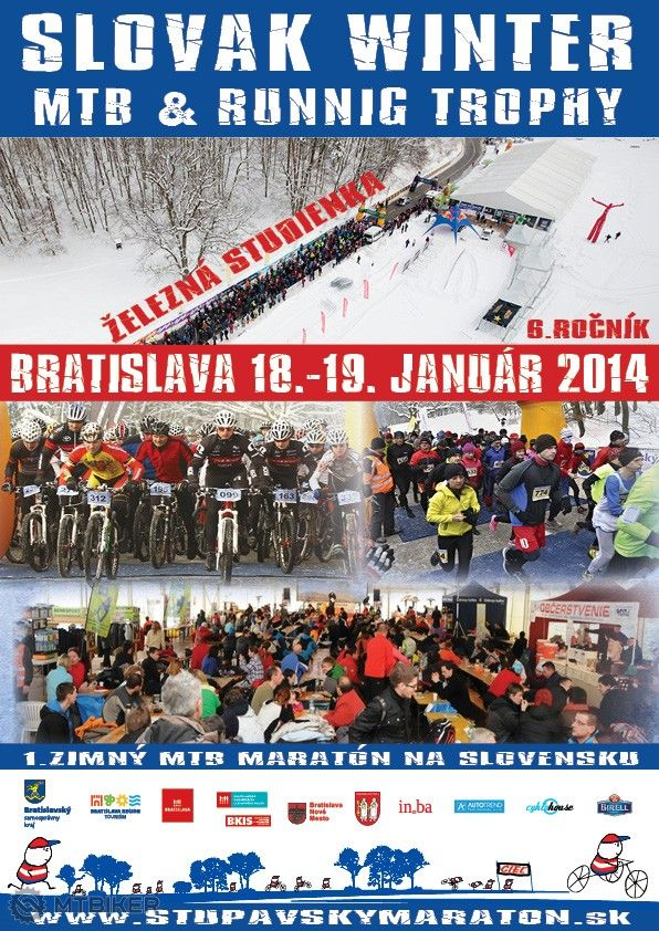 1.zimny MTB maraton na Slovensku 2014 - Plagat.jpg