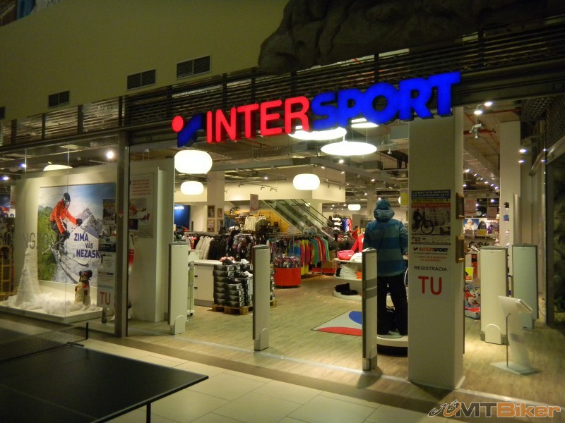 Example of the Registration center INTERSPORT Shopping Palace - Zlate Piesky.jpg