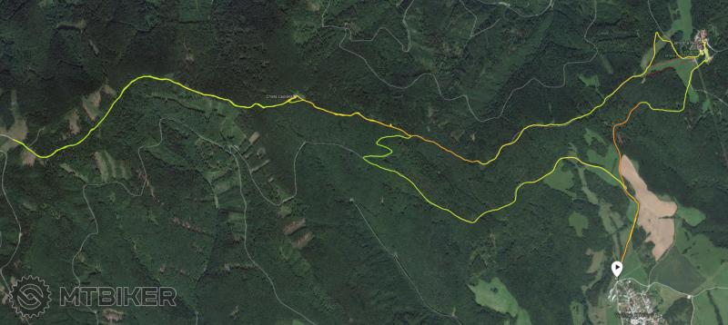 V Klatov Lajoska Tisicka Jahodna 21 km.png